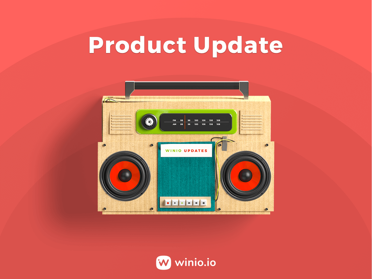 Winio April Product Update
